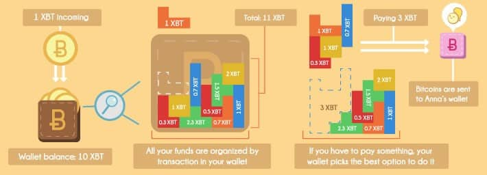 bitcoin wallet and inputs