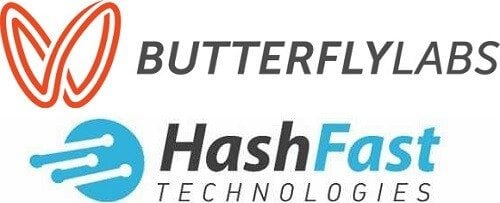 BFL and Hashfast Logos
