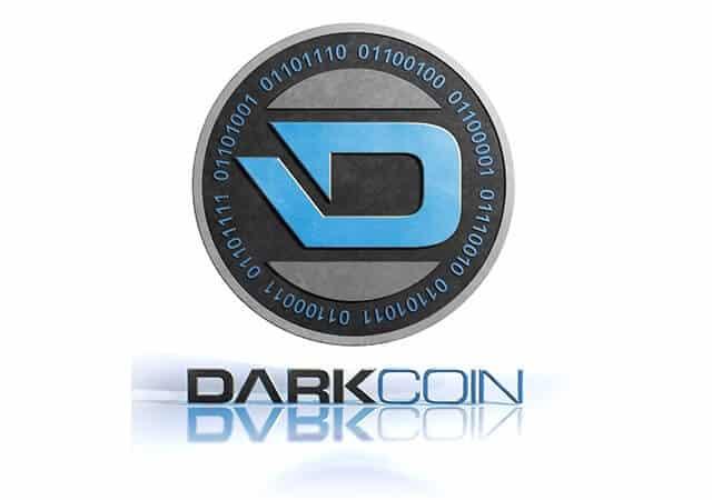 Darkcoin Reflective Logo
