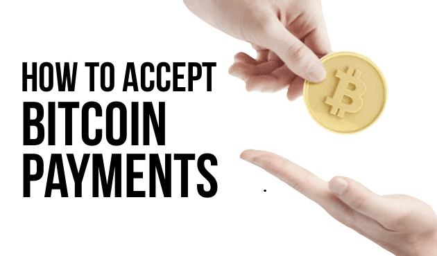 how to accept bitcoin payments small business