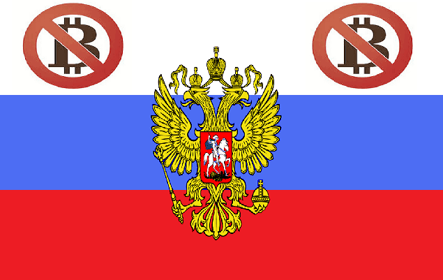 russia bans bitcoin again