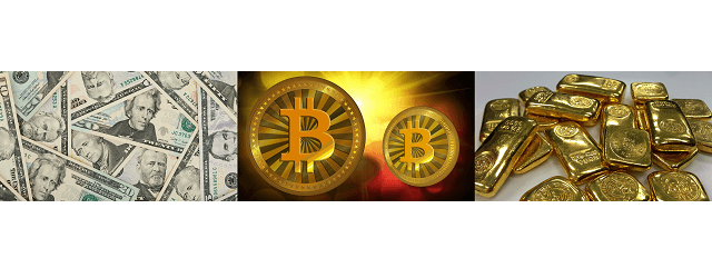 Bitcoin vs Gold vs USD:  Why Cryptocurrency is the Future