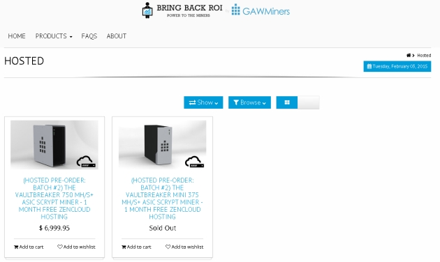 Hosted Options from Bring Back ROI