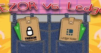 TREZOR vs Ledger