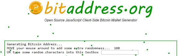 bitaddress home page