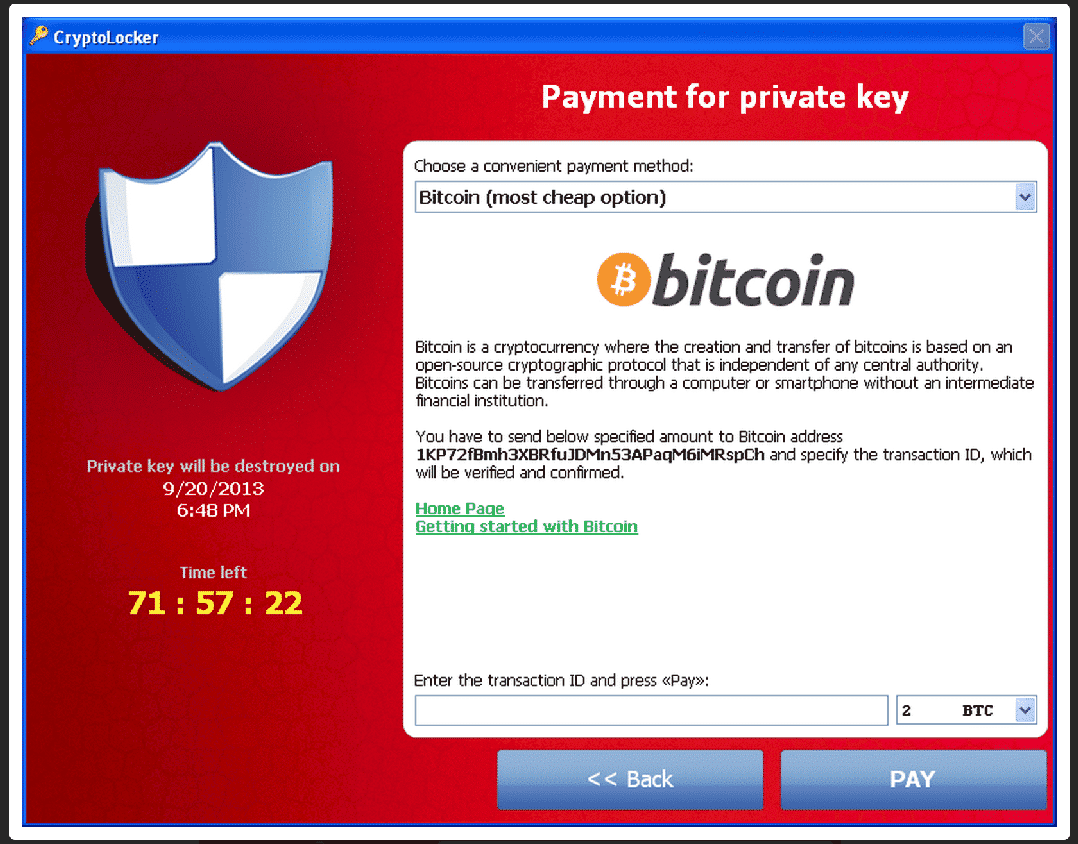 cryptolocker notice