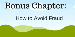 bonus chapter - avoiding fraud