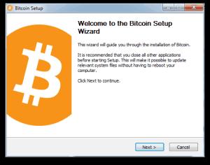 Bitcoin Core install