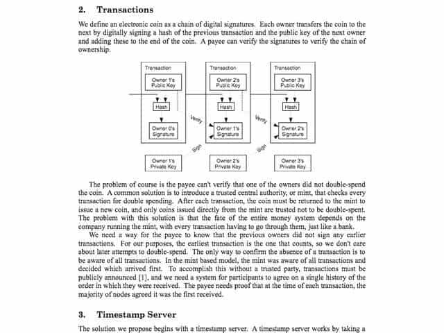 What is the Bitcoin whitepaper?