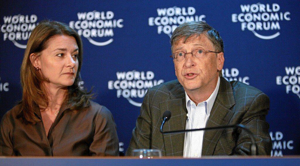 Melinda and Bill Gates