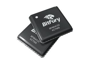 Bitfury mining chip