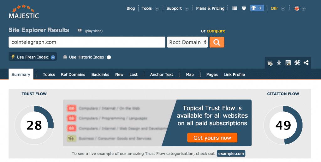 ct trust flow