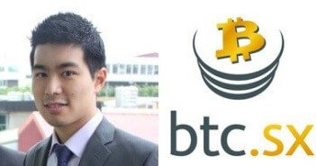 CEO of BTC.sx, Joe Lee.