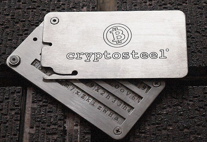 cryptosteel giveaway