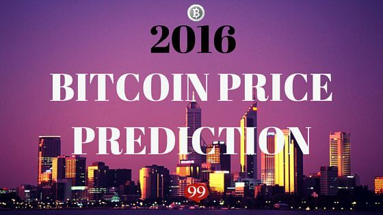 2016 Bitcoin price prediction