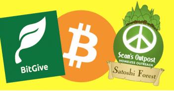 Bitcoin charity