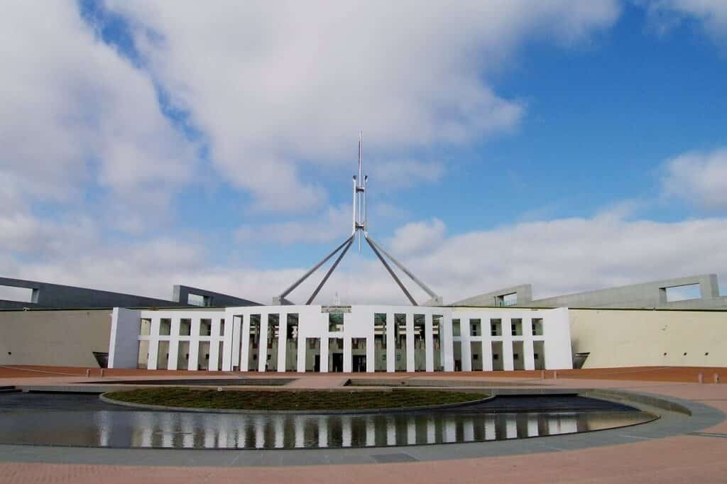 Parliment House, Canberra