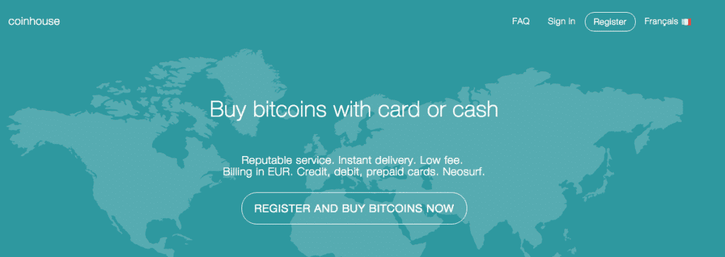 coinhouse bitcoin debit card