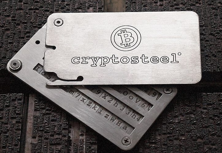 cryptosteel review  burned it down  ran over it and