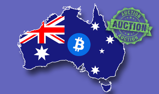 Australia Bitcoin Auction, Bitcoin Market Reacts