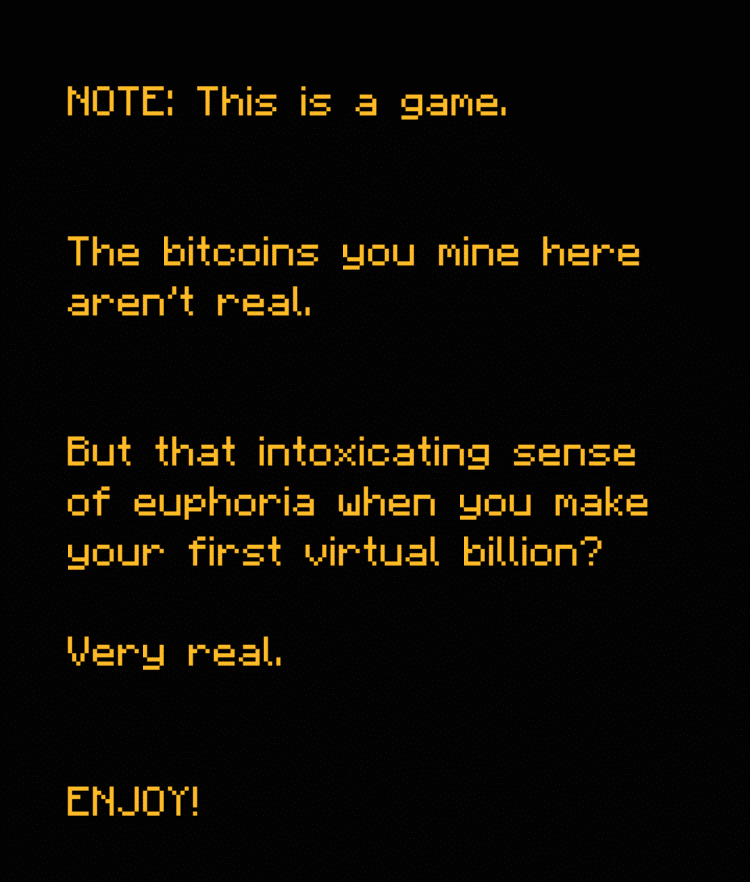 Bitcoin Billionaire message