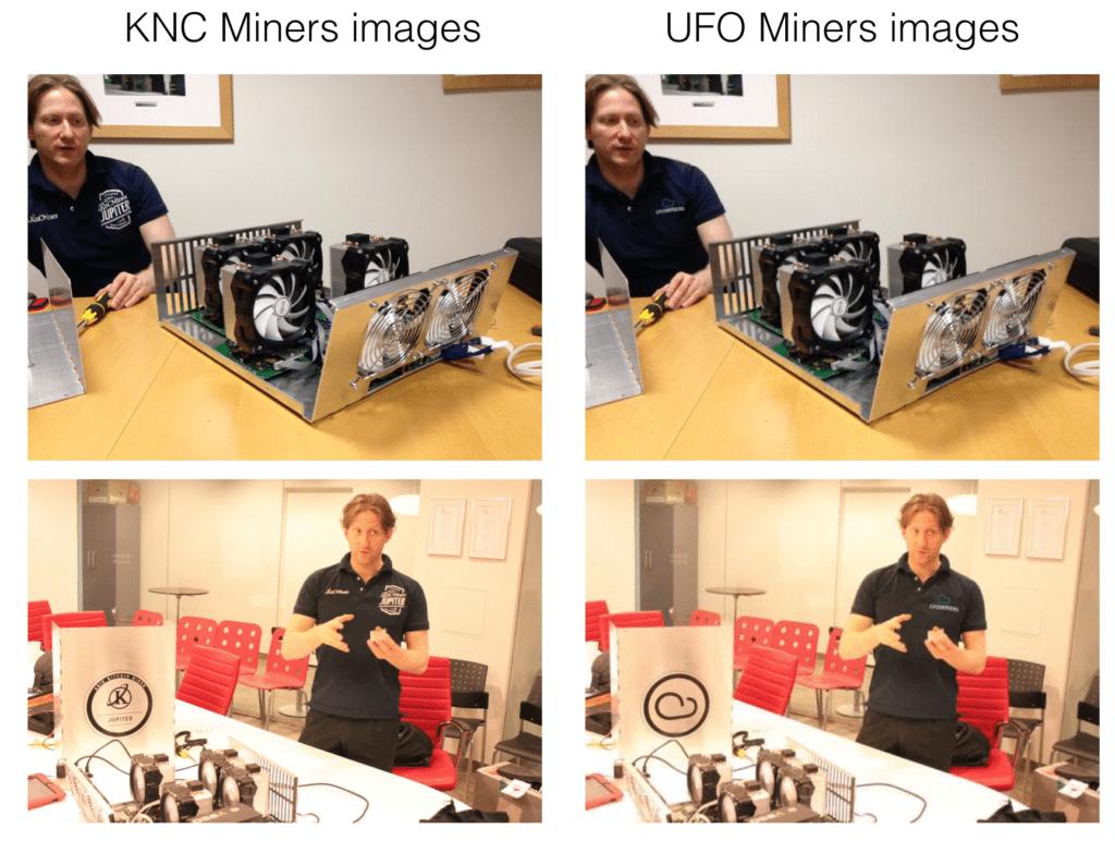 miner shots KNC miners