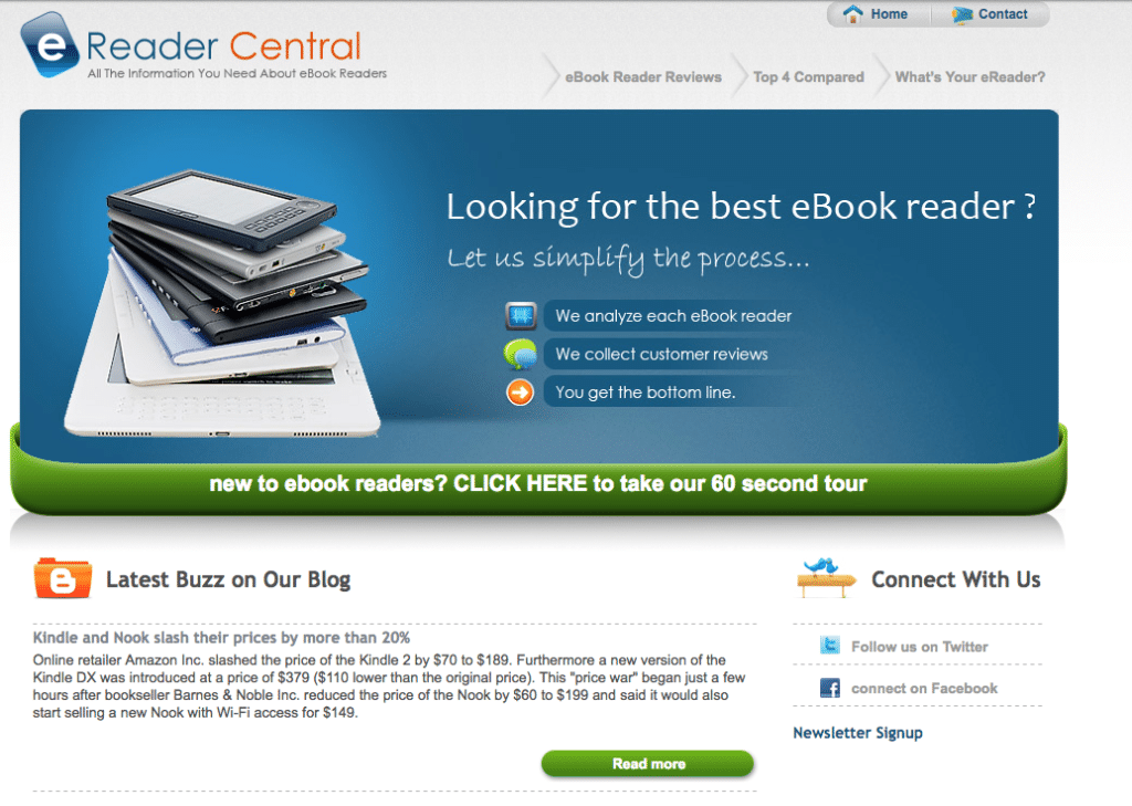 ereader central today