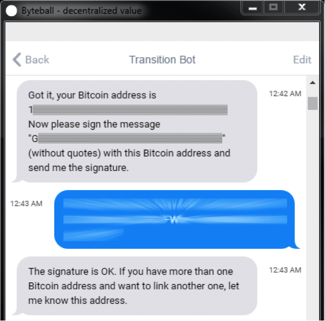 How to use your bitcoin wallet to get free coins bot signed message ccuart Choice Image