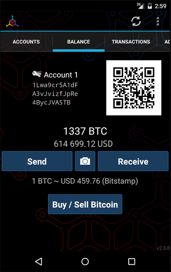 2018s best bitcoin wallets for your android mobile device reviewed the wallet doesnt have a web or desktop interface meaning coins can be accessed only through your mobile wallet the good news is that you can use mycelium ccuart Choice Image