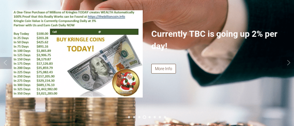 The Billion Coin (TBC) Review - How a Scam Goes Bust