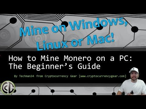 How to Mine Monero on Your PC: A Beginner's Guide to XMR Mining
