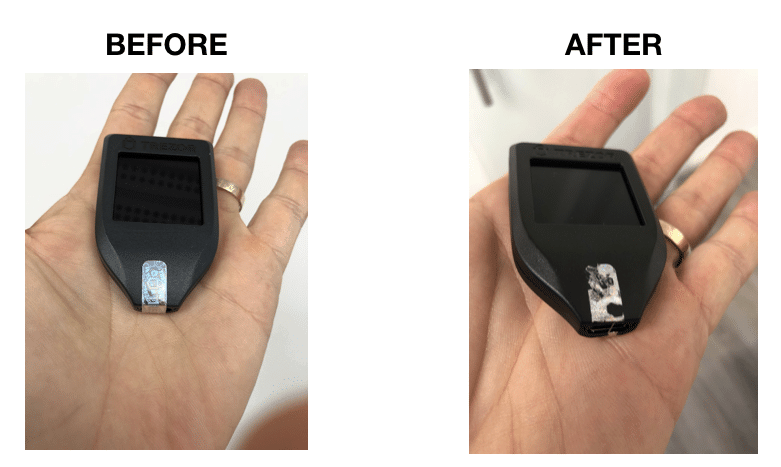 TREZOR embed seal  - Screen Shot 2018 03 19 at 15 - Is It Worth the Price Tag?