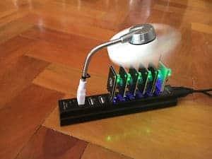 USB mining rig