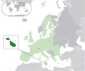 Malta Map 300x252 - Lista completa de países amigos de Bitcoin para empresas de criptomonedas en 2018
