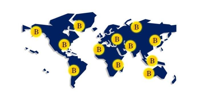 Bitcoin friendly countries list