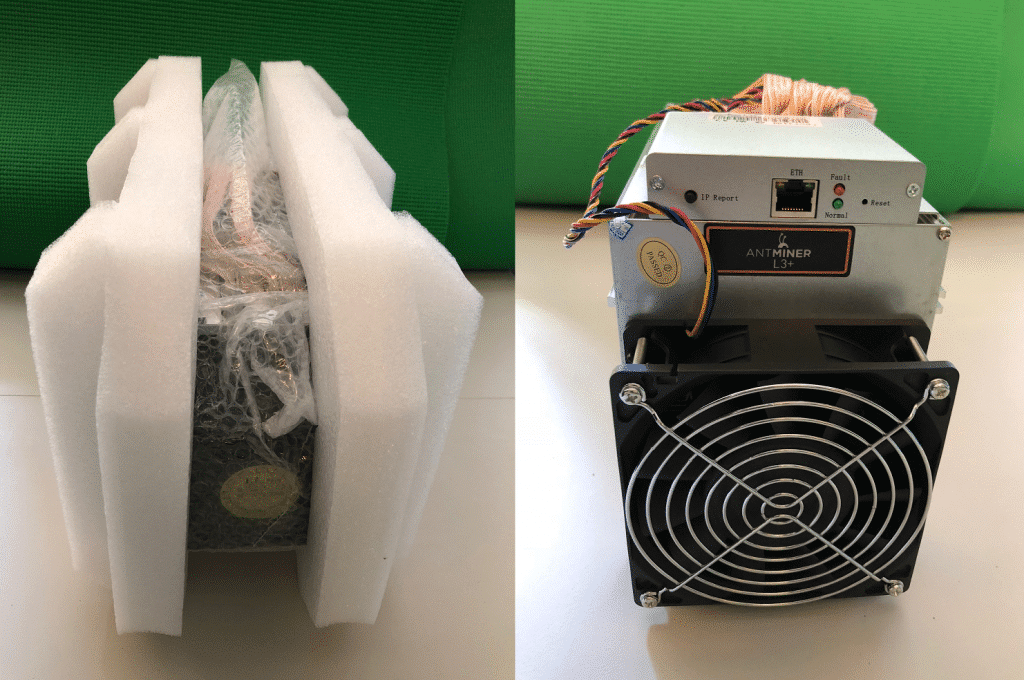 Antminer L3+ Unboxed