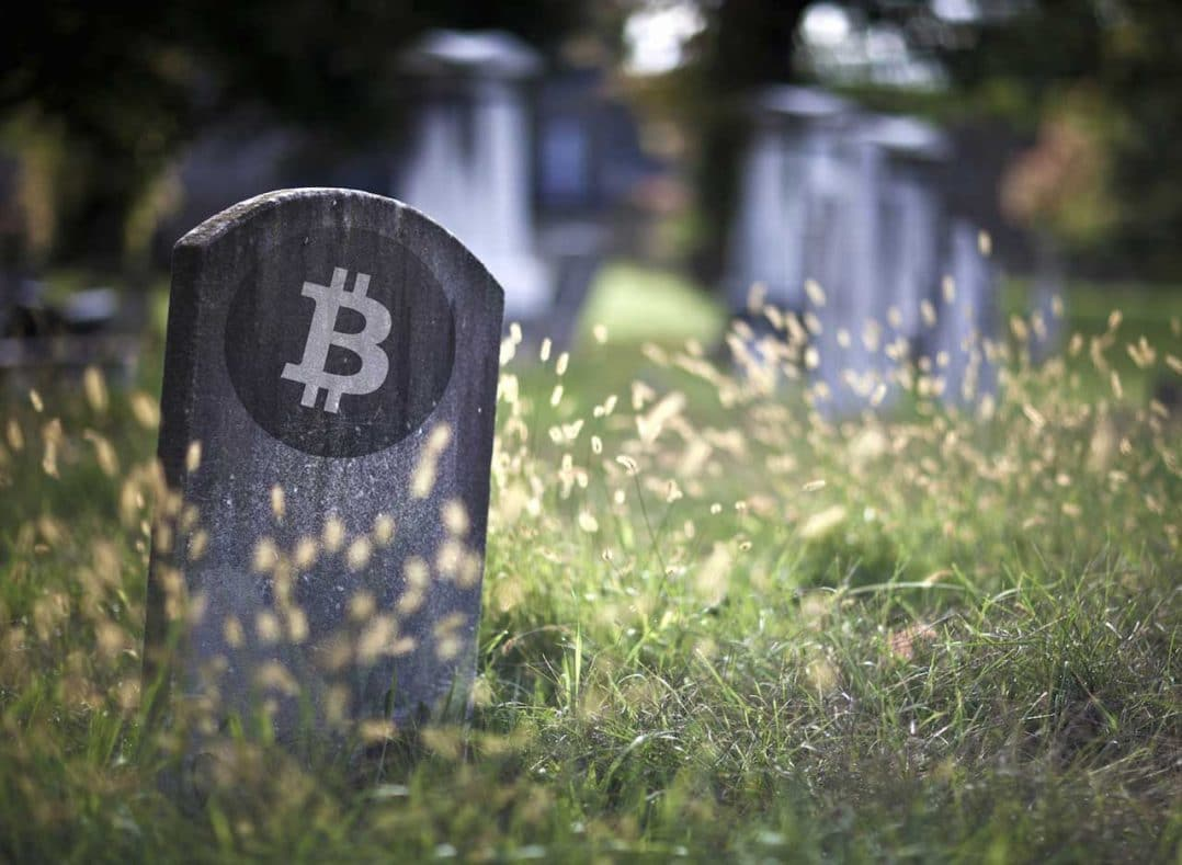 Tombstone Bitcoin Dead