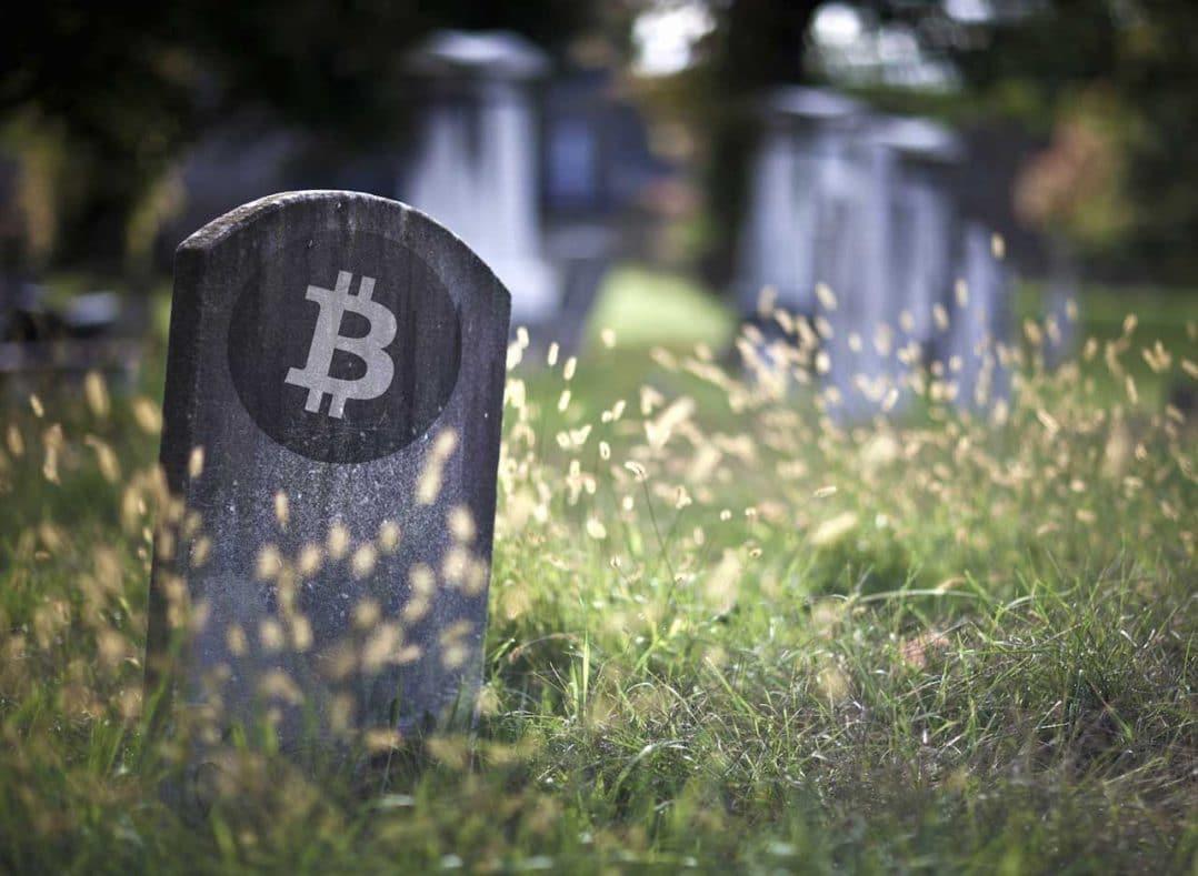 Tombstone Bitcoin Dead