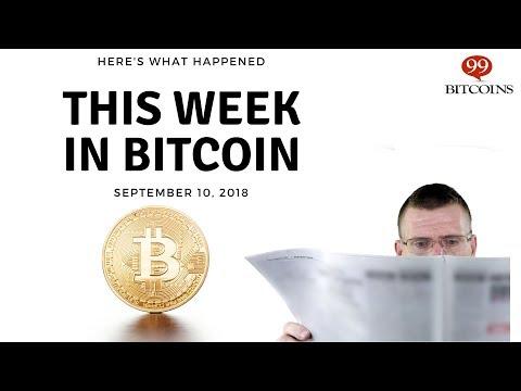 Bitcoin News Summary – September 10, 2018 thumbnail