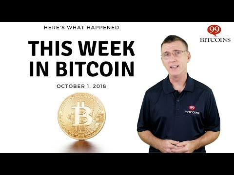 Bitcoin News Summary – October 1, 2018 thumbnail