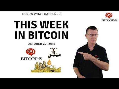 Bitcoin News Summary – October 22, 2018 thumbnail