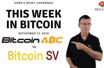 This week in Bitcoin Nov12