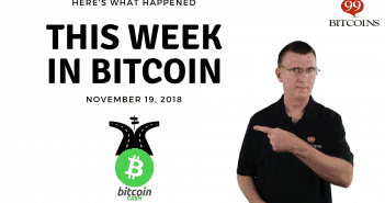 This week in Bitcoin Nov19