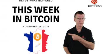 This week in Bitcoin Nov26