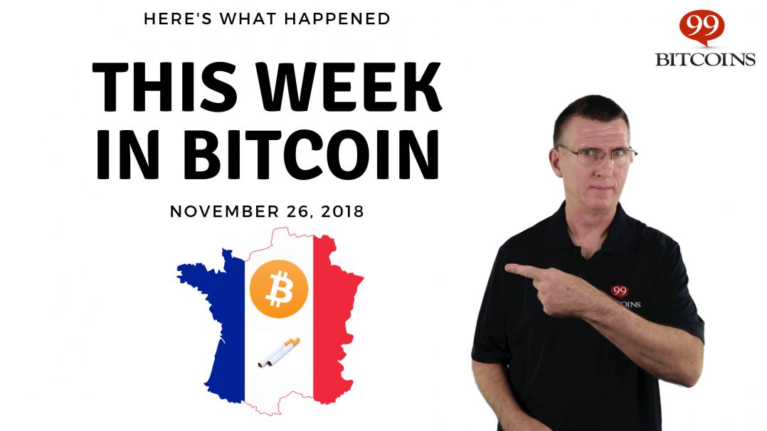 Bitcoin News Summary – November 26, 2018