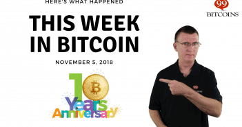 This week in Bitcoin Nov5