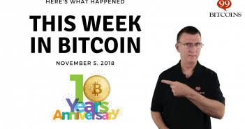 This week in Bitcoin Nov5