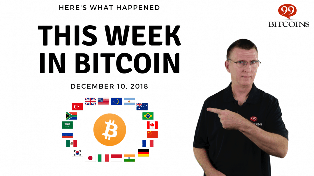 Bitcoin News Summary – December 10, 2018 thumbnail