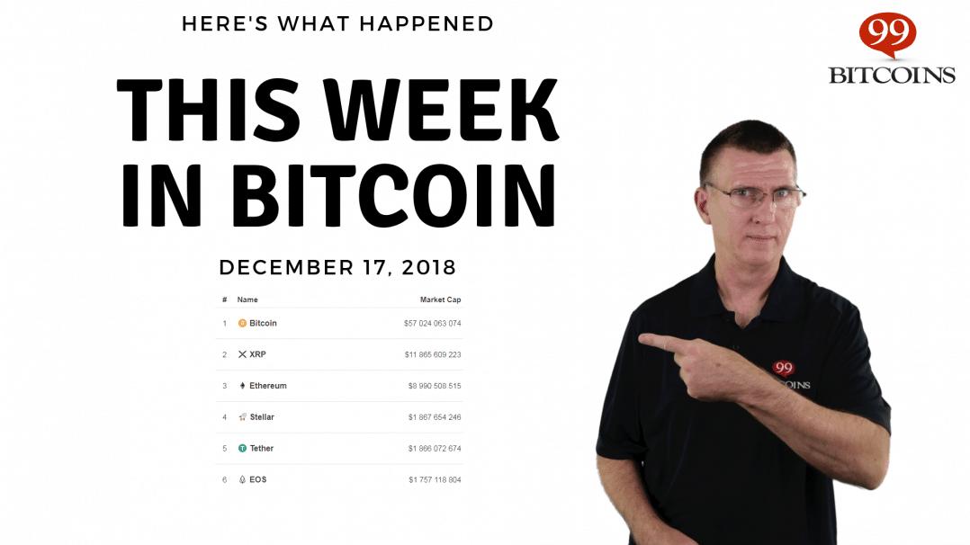 Bitcoin News Summary – December 17, 2018 thumbnail