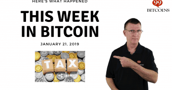 This week in Bitcoin Jan 21 2019